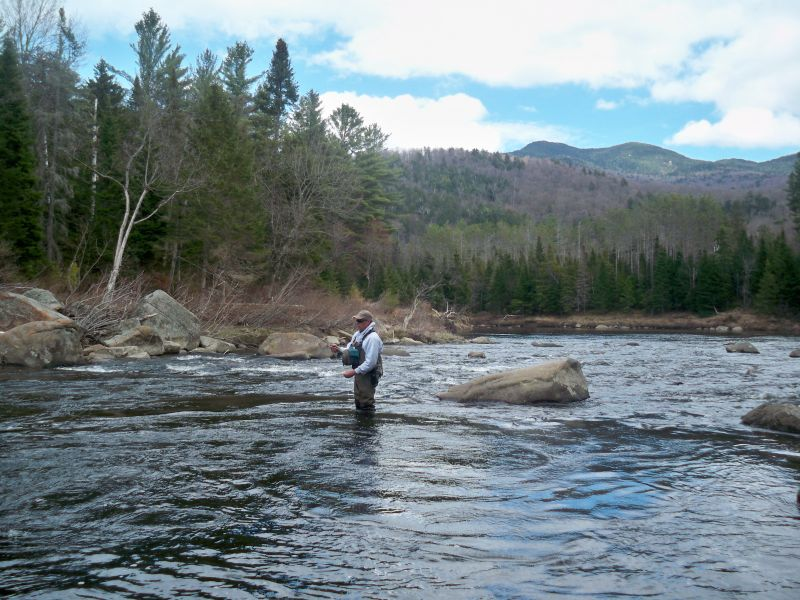 guided adirondack fly fishing