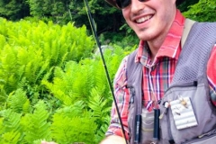 Adirondack-Fly-Fishing-Nessmuk's Guide Client- Brown Trout