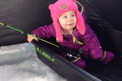 Finnley Ice fishing 2