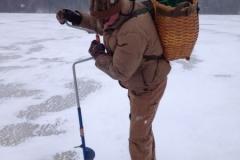 Old School Ice Fishing