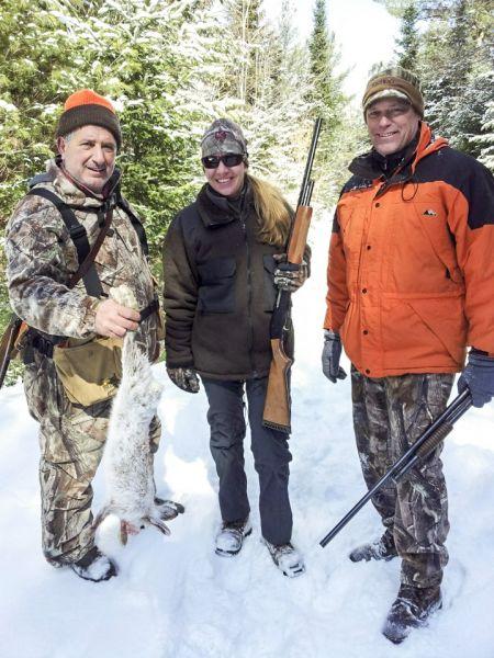 Hunting-Snowhoe-Hare -Adirondacks-New-York