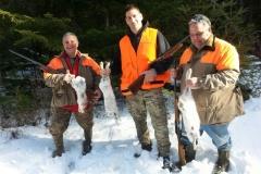Adirondack Snowshoe Hare Hunt 2016!