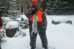 Eric's First Snowshoe Hare 2016!