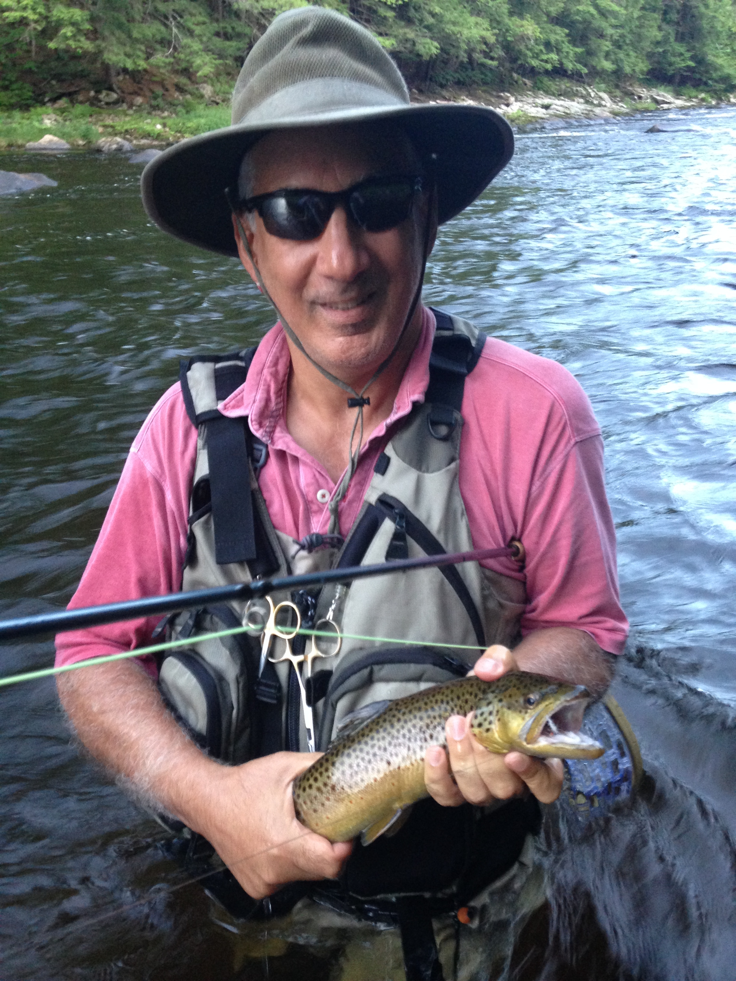 Fly fishing on the west branch of the ausable river for Fly fish usa